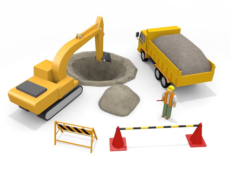 建設業許可・経営事項審査のイメージ